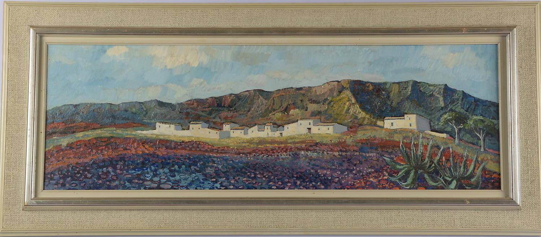 Henry Eldin, oil on canvas