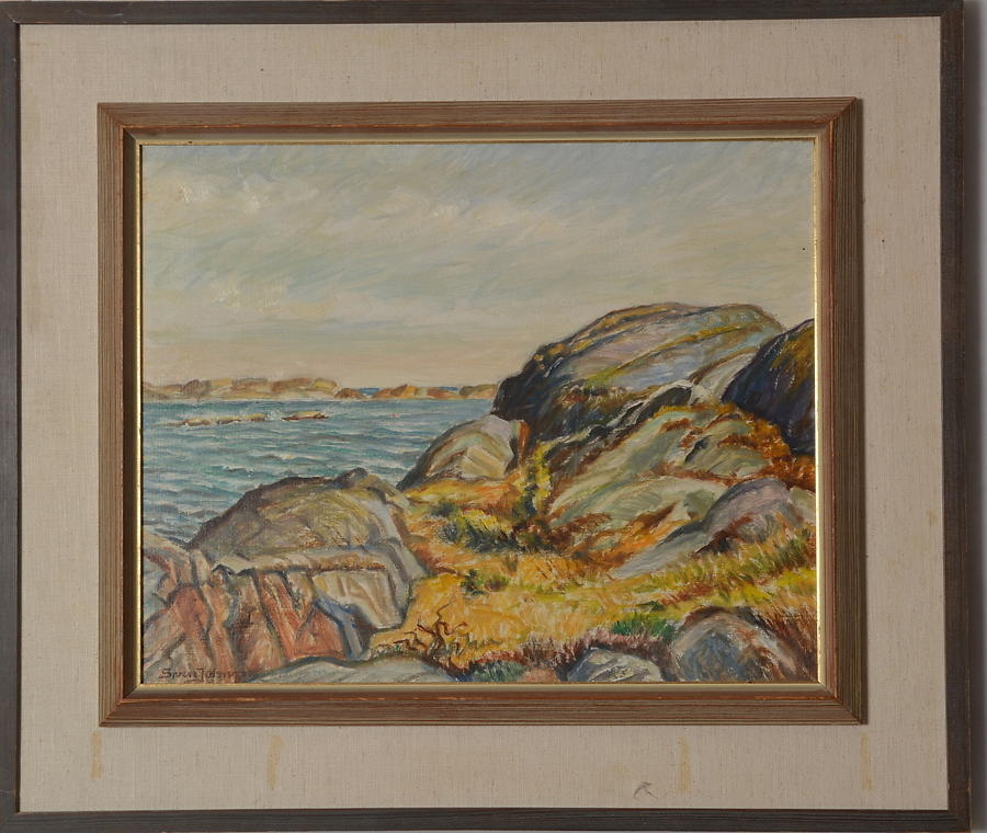 Unknown Artist, Swedish coastal rocks