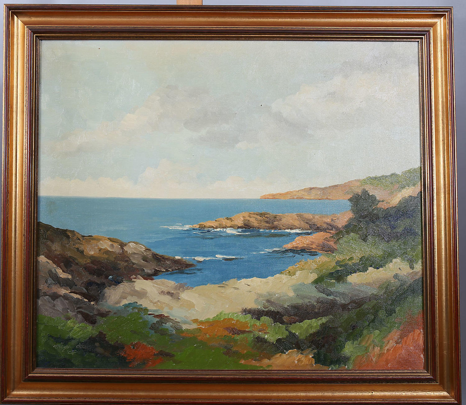 VAGN OVE SCHNACH oil on canvas coastal view
