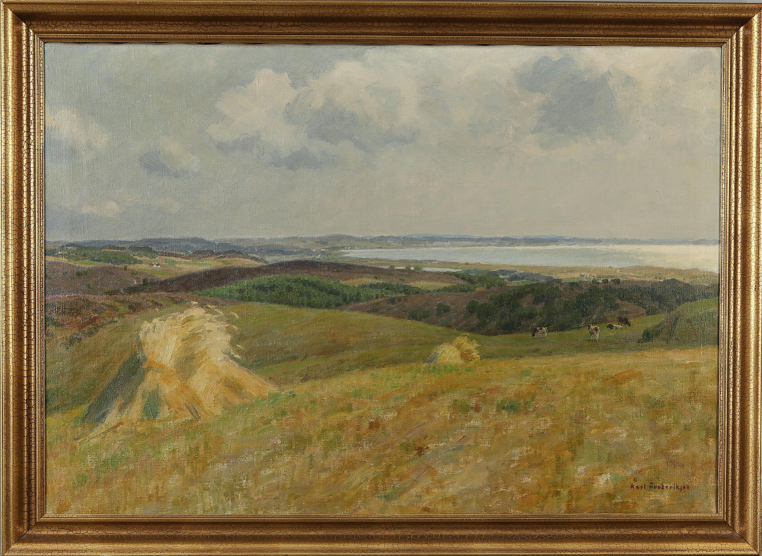 AXEL FREDERIKSEN,  panoramic landscape