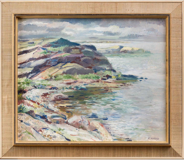 TADEUSZ KAMASA 1924-2003, coastal view