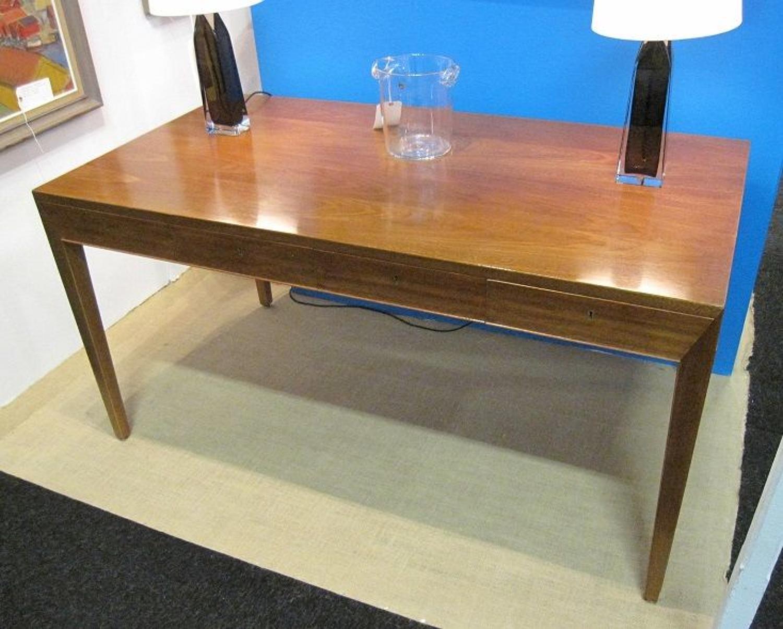 SEVERIN HANSEN Jr, a mahogany writing table