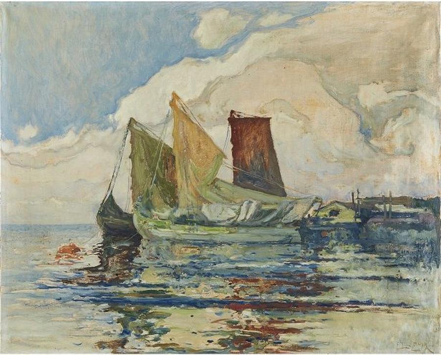 EMIL ZOIR, Swedish 1861-1936
